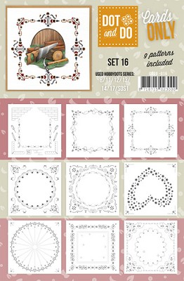 Hobbydots - Dot & Do - Cards Only - Oplegkaarten - Set 16