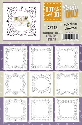 Hobbydots - Dot & Do - Cards Only - Oplegkaarten - Set 18