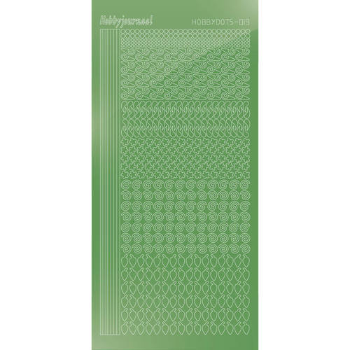 Hobbydots - Mirror Lime - Serie 19 (stdm19C)