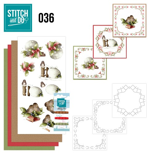Stitch and Do 36 - Kerstversieringen - Precious Marieke - STDO036