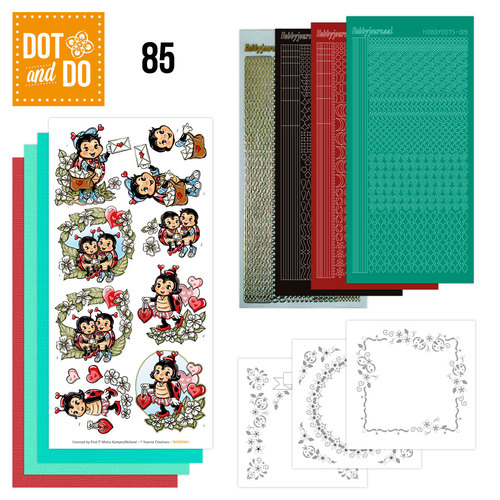 Dot and Do 85 - Lieveheersbeestjes - Yvonne Creations - Dodo085