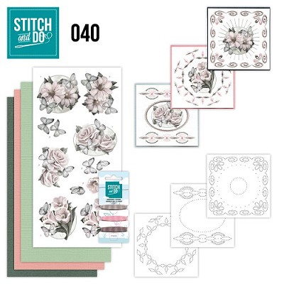 Stitch and Do 40 - Condoleance - Amy design - Stdo040