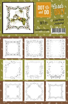 Hobbydots - Dot & Do - Cards Only - Oplegkaarten - Set 21