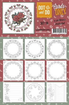 Hobbydots - Dot & Do - Cards Only - Oplegkaarten - Set 19