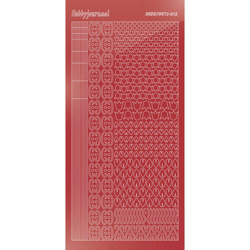 Hobbydots - Mirror Christmas Red - Serie 12 (stdm12H)