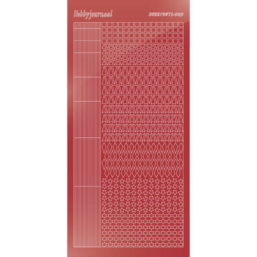 Hobbydots - Mirror Christmas Red - Serie 9 (stdm09H)