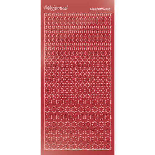Hobbydots - Mirror Christmas Red - Serie 8 (stdm08H)