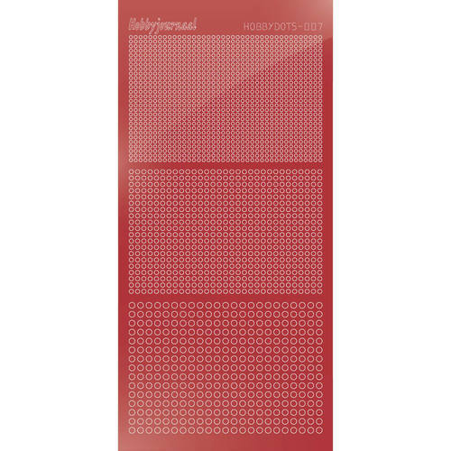 Hobbydots - Mirror Christmas Red - Serie 7 (stdm07H)