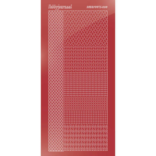 Hobbydots - Mirror Christmas Red - Serie 4 (stdm04H)