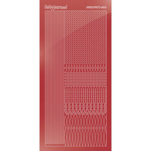 Hobbydots - Mirror Christmas Red - Serie 3 (stdm03H)