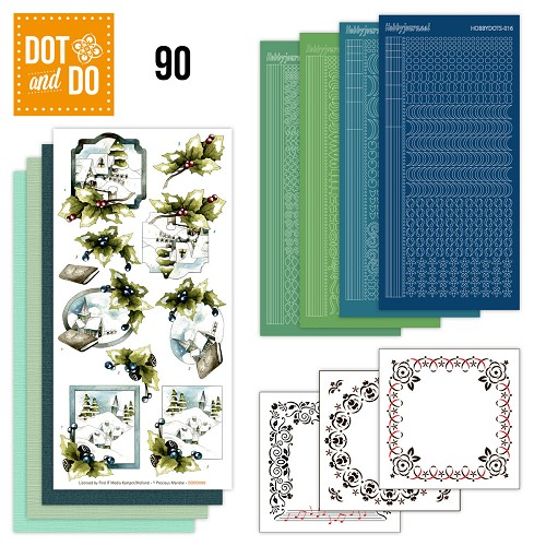 Dot and Do 90 - (Kerst) Landschappen - Precious Marieke - Dodo090