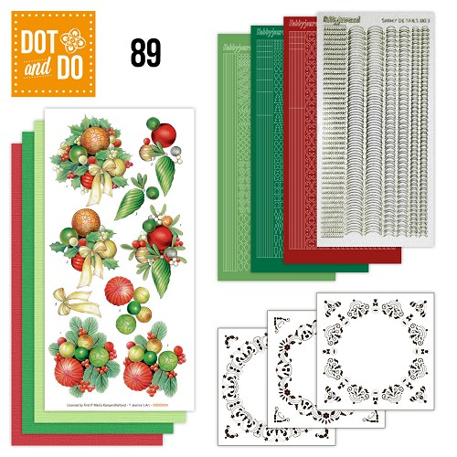 Dot and Do 89 - Kerstballen - Jeanine Art - Dodo089