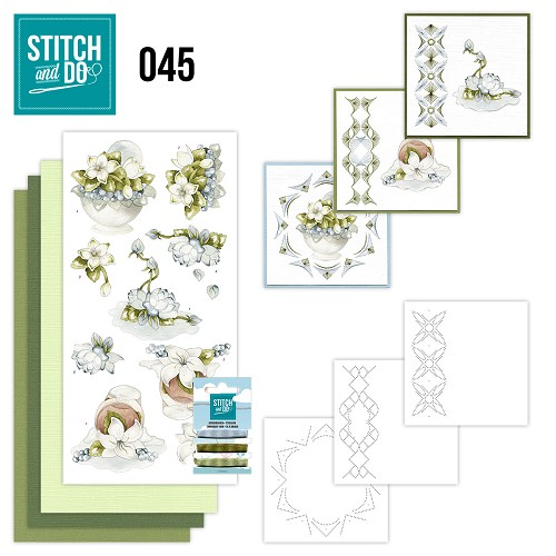 Stitch and Do 45 - Winterflowers - Precious Marieke