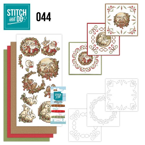 Stitch and Do 44 - Holly Jolly mix - Yvonne Creations - STDO044