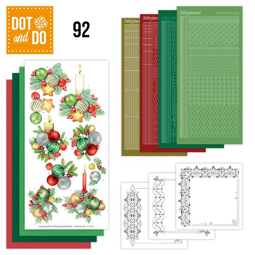 Dot and Do 92 - Kerstkaarsen - Jeanine Art - Dodo092