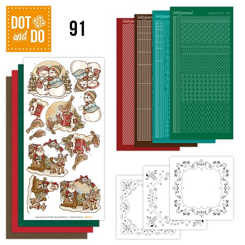 Dot and Do 91 - Holly Jolly Mix - Yvonne Creations - Dodo091