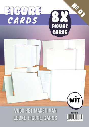 Figure Cards - Boek 1 - Wit - FGCS001-01