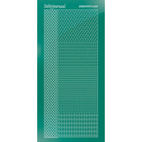 Hobbydots - Stickervel - Mirror Christmas Green - Serie 4 (stdm04J)
