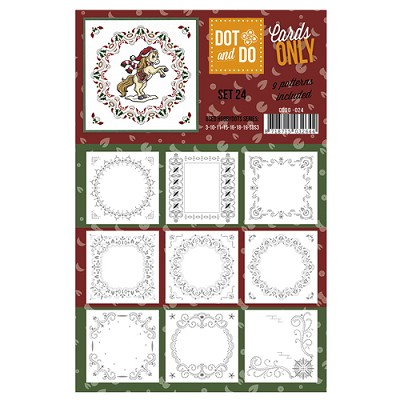 Hobbydots - Dot & Do - Cards Only - Oplegkaarten - Set 24