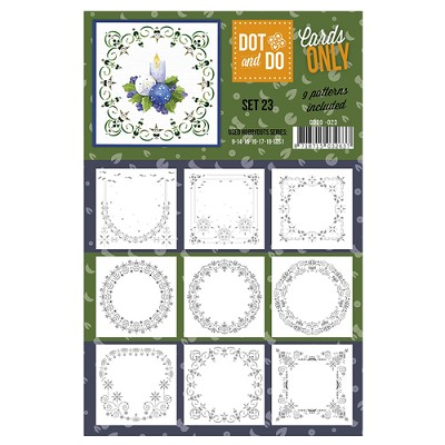 Hobbydots - Dot & Do - Cards Only - Oplegkaarten - Set 23