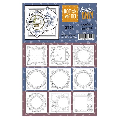 Hobbydots - Dot & Do - Cards Only - Oplegkaarten - Set 22