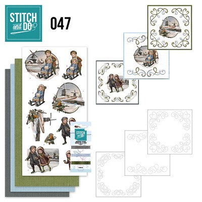 Stitch and Do 47 - Winterglow - Amy Design