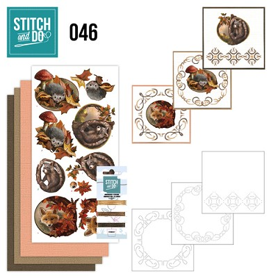 Stitch and Do 46 - Autumn - Amy Design - Stdo046