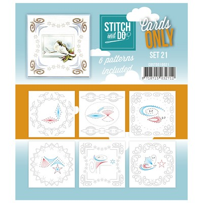 Stitch & Do - Cards only - Set 21 - Costdo10021