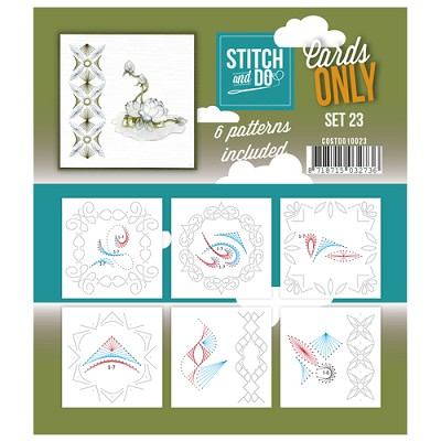 Stitch & Do - Cards only - Set 23 - Costdo10023