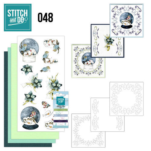 Stitch and Do 48 - Winterfun - Precious Marieke - Stdo048
