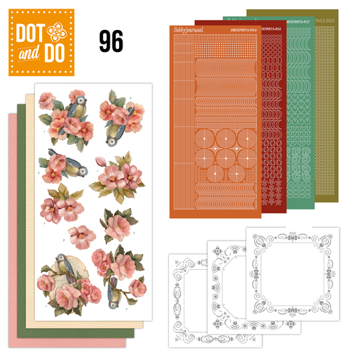 Dot and Do 96 - Bloemen - Amy Design - Dodo096