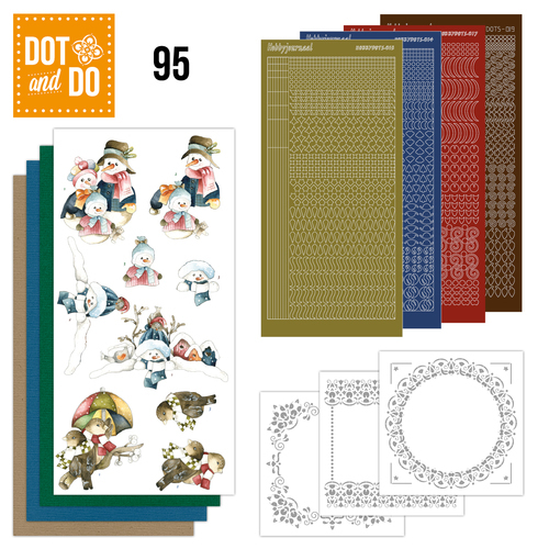 Dot and Do 95 - Winterfun - Precious Marieke - Dodo095