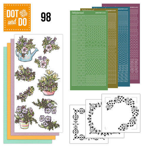 Dot and Do 98 - Voorjaarsboeketjes - Yvonne Creations - Dodo098