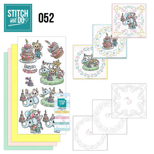 Stitch and Do 52 - Tods and Toddlers / Verjaardag - Yvonne Creations - Stdo052