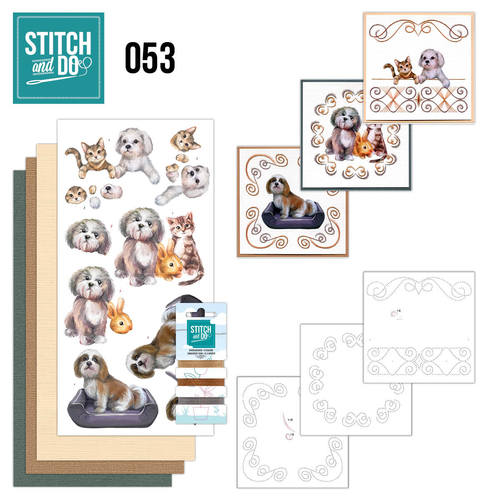 Stitch and Do 53 - Huisdieren - Amy Design - STDO053