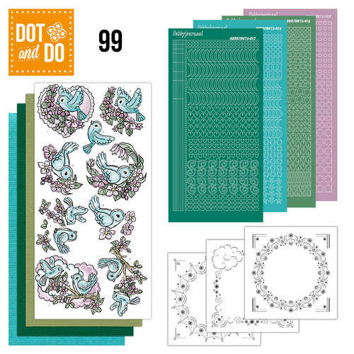 Dot and Do 99 - Spring-tastic / Vogels - Yvonne Creations - Dodo099