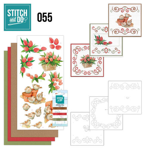 Stitch and Do 55 - Garden Classics - Jeanines Art - Stdo055