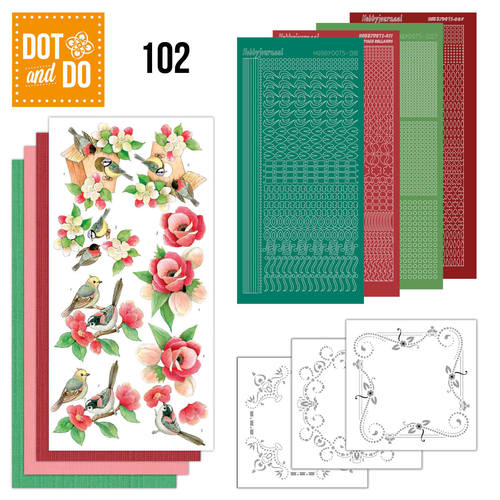 Dot and Do 102 - Garden Classics - Jeanine`s Art - Dodo102