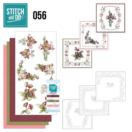 Stitch and Do 56 - Fantastic Flowers - STDO056