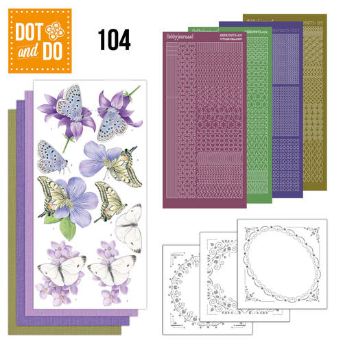 Dot and Do 104 - Butterflies - Dodo104
