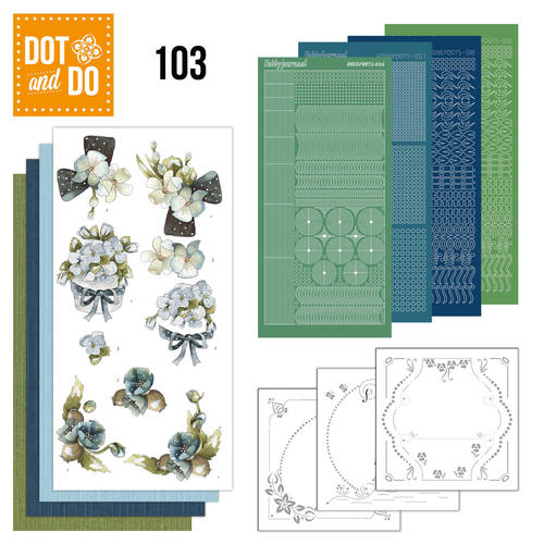 Dot and Do 103 - Fantastic flowers - Dodo103