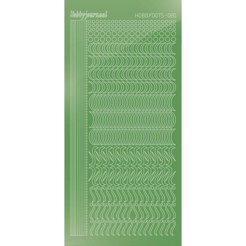 Hobbydots - Mirror Lime - Serie 20 (stdm20C)