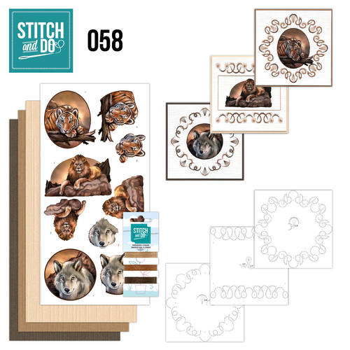 Stitch and Do 58 - Wild Animals - STDO058