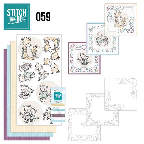Stitch and Do 59 - I love you - STDO059