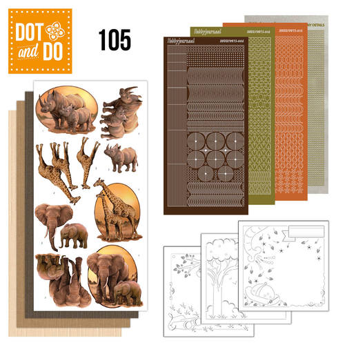 Dot and Do 105 - Wild Animals - Dodo105