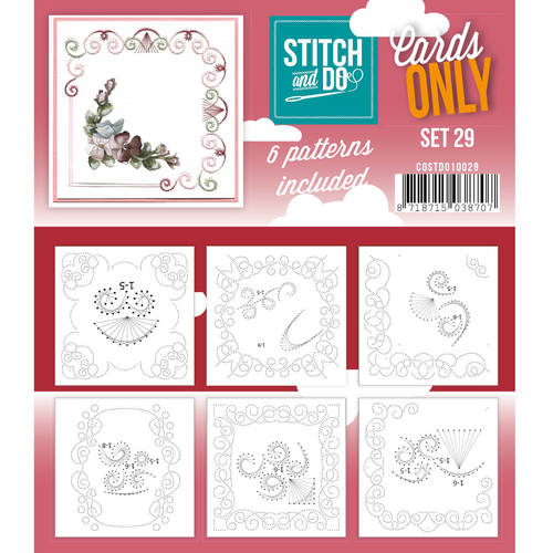 Stitch & Do - Cards only - Set 29 - Costdo10029