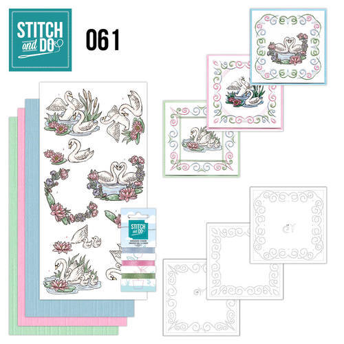 Stitch and Do 61 - Swans / Zwanen - STDO061