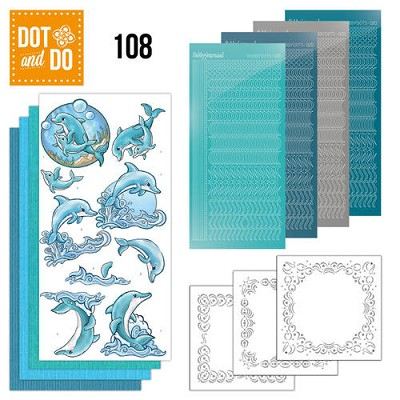 Dot and Do 108 - Dolphins - Dodo108