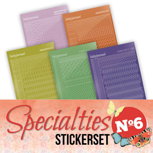 Stickerset Specialties 6 - Specst006