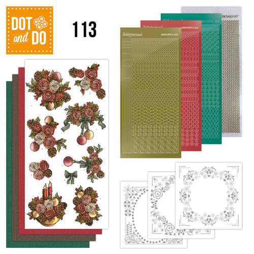 Dot and Do 113 - Christmas Flowers - Dodo113